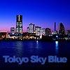 Tokyo Sky Blue -東京の建物と空の写真集-/写真素材